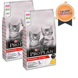 ProPlan - ProPlan Tavuklu Pirinçli Yavru Kedi Maması 400Gr + 400Gr HEDİYELİ