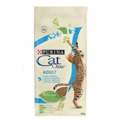 Purina - Purina Cat Chow Adult Tuna ve Somon Balıklı Kedi Maması 15 KG