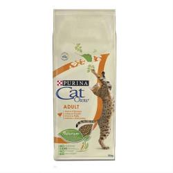 Purina - Purina Cat Chow Kediler İçin Tavuklu Hindili Mama 15 KG
