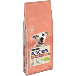 Purina - Purina Dog Chow Sensitive Somonlu Köpek Maması 14 KG