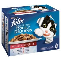 Felix - Felix Karışık Yaş Kedi Maması 100 GR * 20 ADET