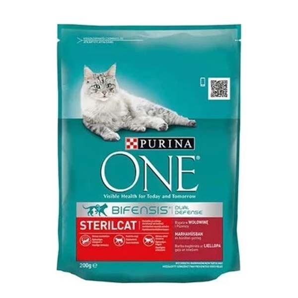 Purina One Sığır Etli Kısırlaştırılmış Kedi Maması 200 Gr
