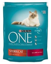Purina One Sığır Etli Kısırlaştırılmış Kedi Maması 800 GR - Thumbnail