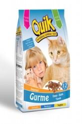 Quik - Quik Gurme Kedi Maması 12 KG