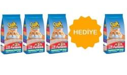 Quik - Quik İnce Taneli Parfümlü Topaklaşan Kedi Kumu 5 Lt (4 AL 3 ÖDE)