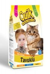 Quik - Quik Tavuklu Kedi Maması 12 KG