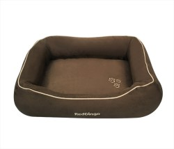 Reddingo - RedDingo Köpek Yatağı Çikolata Small