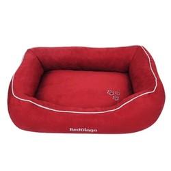 Reddingo - RedDingo Köpek Yatağı Kırmızı Large