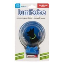 Reddingo - Reddingo Lumitube Işıklı Köpek Boyun Tasması S-M 50*20 CM Mavi