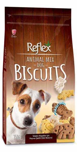 Reflex Animal Mix Hayvan Figürlü Köpek Ödül Bisküvisi 350 Gr