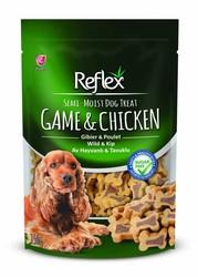 Reflex - Reflex Av Hayvanlı Tavuklu Yarı Yumuşak Köpek Ödül Maması 150 Gr