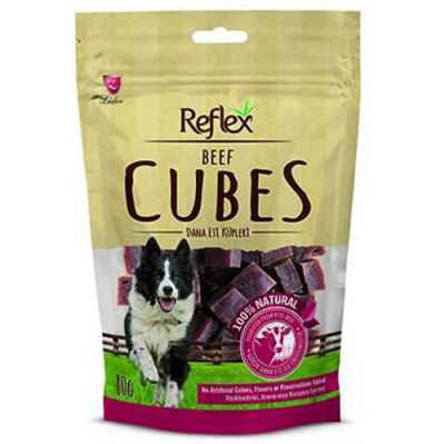 Reflex Beef Cube Biftekli Küp Köpek Ödülü 80 Gr
