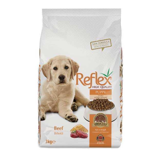 Reflex Biftek Yavru Köpek Maması 3 KG