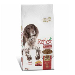 Reflex - Reflex Biftekli Köpek Maması 15 KG