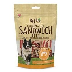 Reflex - Reflex Bite Tavuk ve Morina Balıklı Sandviç Sticks Köpek Ödülü 80 Gr