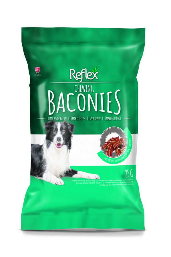Reflex Chewıng Baconies Jambonlu Köpek Köpek Ödülü 85 Gr
