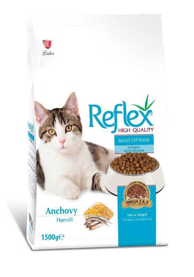 Reflex Hamsili Yetişkin Kedi Maması 15 KG