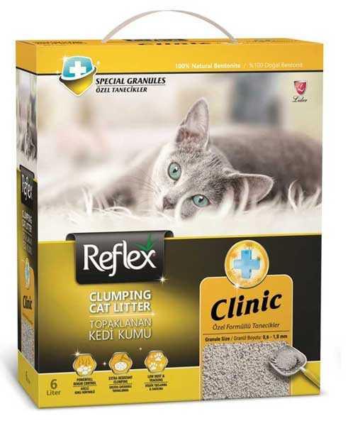 Reflex Klinik Kedi Kumu 6 Litre