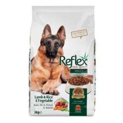 Reflex - Reflex Kuzu Etli ve Sebzeli Köpek Maması 3 KG