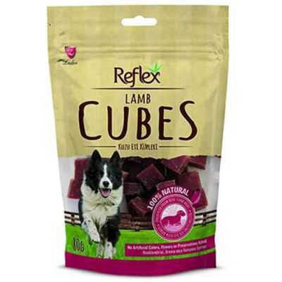 Reflex Lamb Cube Kuzu Etli Küp Köpek Ödülü 80 Gr