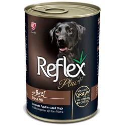 Reflex - Reflex Plus Biftekli Köpek Konservesi 400 GR