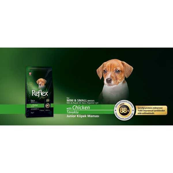 Reflex Plus Küçük Irk Yavru Köpek Maması 3 KG