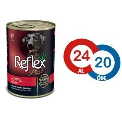 Reflex - Reflex Plus Kuzulu Köpek Konservesi 400 GR * 24 ADET