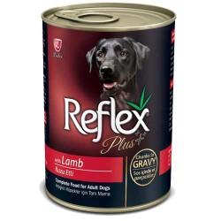 Reflex - Reflex Plus Kuzulu Köpek Konservesi 400 GR
