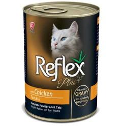 Reflex - Reflex Plus Tavuklu Kedi Konservesi 400 GR