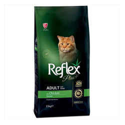 Reflex - Reflex Plus Tavuklu Kedi Maması 15 KG