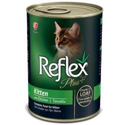 Reflex - Reflex Plus Tavuklu Yavru Kedi Konservesi 400 GR