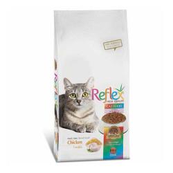 Reflex - Reflex Renkli Taneli Tavuklu Kedi Maması 3 KG