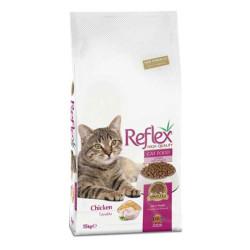 Reflex - Reflex Tavuklu Kedi Maması 15 KG