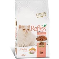 Reflex - Reflex Tavuklu Yavru Kedi Maması 1,5 Kg