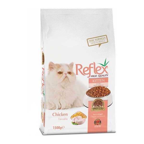 Reflex Tavuklu Yavru Kedi Maması 15 KG