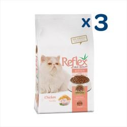 Reflex - Reflex Tavuklu Yavru Kedi Maması 4,5 Kg (3 Adet 1.5 KG)