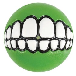Rogz - Rogz Grinz Diş Desenli Yeşil Ödül Mama Topu