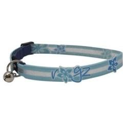 Rogz - Rogz Kolay Ayarlanabilir Kedi - Köpek Boyun Tasması Blue Floral
