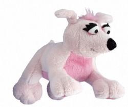 Rogz - Rogz Peluş Köpek Oyuncağı (Pembe) 19 cm