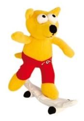 Rogz - Rogz Peluş Köpek Oyuncağı (Retro Rex) 25 cm (CR04-A)