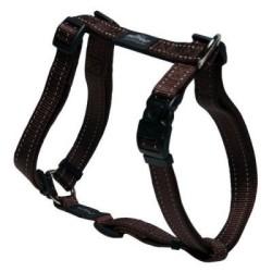 Rogz - Rogz Reflektifli Kahverengi Köpek Göğüs Tasması (60cm-100cm)