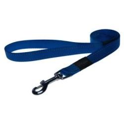 Rogz - Rogz Reflektifli Mavi Köpek Gezdirme Tasması 1.4 Mt * 1.5 Cm (HL11-B)