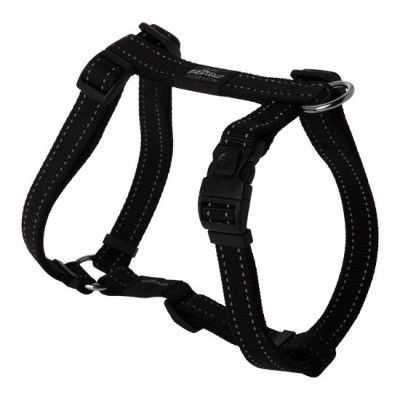 Rogz Reflektifli Siyah Kedi - Köpek Göğüs Tasması (23cm-37cm)