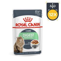 Royal Canin - Royal Canin Digest Sensitive Pouch Kedi Konservesi 85 GR * 12 Adet