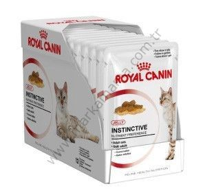 Royal Canin İnstinctive Jelly Kedi Konserve Maması 85 GR * 12 Adet