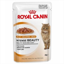 Royal Canin - Royal Canin İntense Beauty Jelly Kedi Konservesi 85 GR*12 ADET