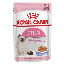 Royal Canin - Royal Canin Kitten Instinctive In Jelly Yavru Kedi Jel Konservesi 85Gr