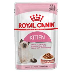 Royal Canin - Royal Canin Kitten Gravy İnstinctive Yaş Kedi Maması 85 GR