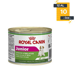Royal Canin - Royal Canin Mini Junior Yavru Köpek Konservesi 195 GR X 12 Adet