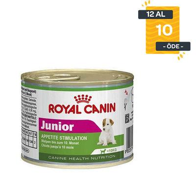 Royal Canin Mini Junior Yavru Köpek Konservesi 195 GR X 12 Adet